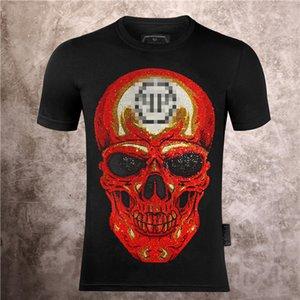 Mens Designer Luxury T Shirts Firmata juventus Off black White vltn T Shirt Summer Skull Tee Tops backpack shoes High quality M-3XL 02