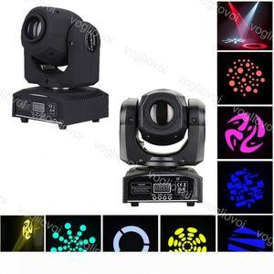 Moving Head luci LED 7colors 30W 60W ha visto la luce della fase di DMX Spot Moving mini per DJ effetto di luci DHL