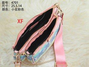 3 pieces set favorite multi classic style accessories handbag purse pu leather L flower shoulder crossbody bag ladies purses