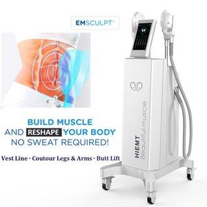 Новые инновации EMS EMSCULPT Мышцы Тонизирующий EMS для похудения машина БТЛ жира Сокращение тела Контурная Лечение Spa