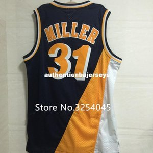 Vintage #reggie miller Top Basketball Jersey Stitched US Size XS-6XL Best Quality vest Jerseys Ncaa