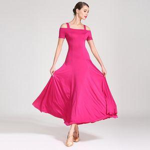 YENİ Latin Salsa Cha cha Tango Ballroom Dance Elbise Standart Balo Elbise Moden Dans S9003 kadın