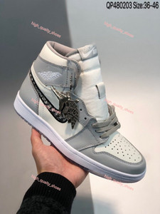 2020 new X 1 high Shoes with logo X Kaws By Kim Jones Casual Shoes Xshfbcl basketball Sneakers