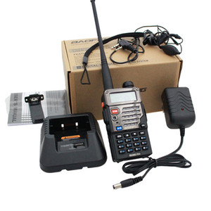 Baofeng UV-5RE + PLUS Polizei Walkie Talkie Scanner Radio-Dualband Cb Amateurfunkgeräte UHF 400-520MHz VHF136-174MHz