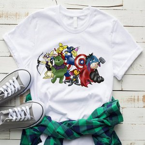 2020 Latest Style Game Print Fashion Short Sleeve T Shits Avengers Captain America Marvel Comics Wars Harajuku Novelty Style Hot
