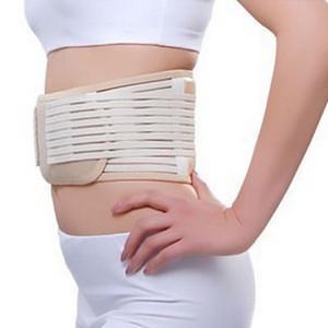 Waist Support 1Pcs Therapy Lower Belt Women Men Tourmaline Magnetic Self Heating Pain Relief Black Beige