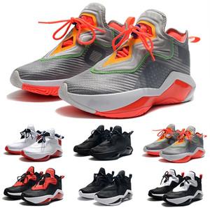 Nuevo 2020 Soldado 14 zapatos de baloncesto de la Universidad Hare Blanco Negro Equipo Rojo Rojo de medianoche Marina de EE.UU. Soldado de julio de decimocuarta zapatillas para hombres