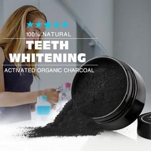 Uso Quotidiano Teeth Whitening Scaling Polvere igiene orale pulizia Confezione Premium attivato Denti carbone di bambù polvere bianca