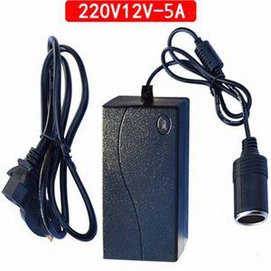 La cigarette de voiture de 220v à l'allume-tête Socket ménage convertisseur de puissance voiture Aspirateur Réfrigérateur Adaptateur Convertisseur TKDc de #