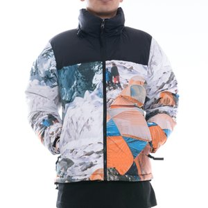 20FW Snow Mountain Camp Nuptse unten Jacken-Winter-warme Outdoor-Jacken Winddichtes Brot Daunenjacke High Street Outwear HFYMJK331