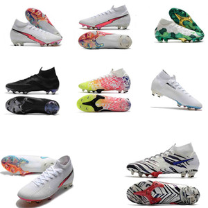 Original Flash-purpurne Kinder Fußballschuh Mercurial Superfly CR7 Kind-Fußball-Schuh-Knöchel Cristiano Ronaldo Frauen Fußballschuh