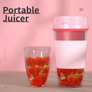 Portátil Juicer USB copo doméstico cobrando suco de mini-fruta elétrica espremedor de frutas wireless cupMini portátil Estilo Juicer garrafa de 500ml