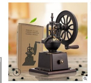 2020 venta caliente retro molinillo de café Ferris volante manual molinillo de café molinillo doméstico