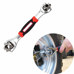 Car Tire Repair tools 48 in 1 Socket Wrench In One Socket Works With Spline Bolts Any Size Stand 6dcr#