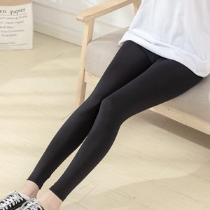 Ice Silk black nine leggings women's season outside wear 2020 yoga pants New Single layer tight thin Barbie yoga pants