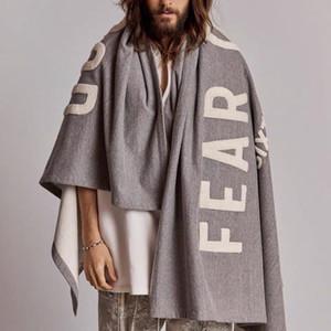 TOP 20SS FG Moda Capa Chaqueta Toalla Manta bordada High Street clásico hombres de las mujeres caliente Outwear chaquetas Casual Manta HFYMJK315