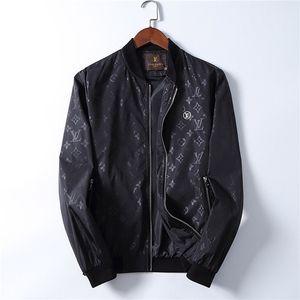 2020 para hombre de la cremallera de la chaqueta de las chaquetas de los diseñadores láser de impresión reflectivas rompevientos con capucha colorido luminoso de imagen Ropa para hombre chaquetas de moda