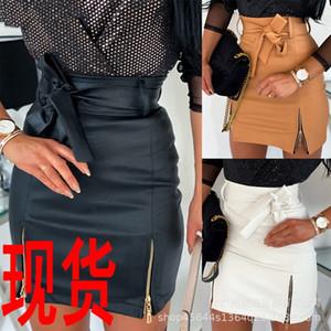 2020 Half skirt PU 2020 Half skirt high waist bag high waist bag PU