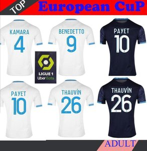 20 21 Olympique De Marseille soccer jersey OM jerseys 2021 2020 maillot de foot PAYET THAUVIN 120 years football shirt 120th anniversary