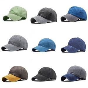 2020 Hot Fashion Blank 6 Panel Plain Without Logo Snapback Hats Hip-Hop Adjustable Boy Baseball Cap Multi Color Ball Caps Hat#531