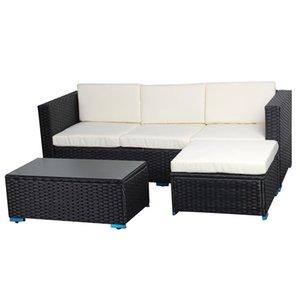 Todo el tiempo al aire libre Patio de ratán sofá de jardín venta de muebles de gama alta de mimbre al aire libre muebles de ratán