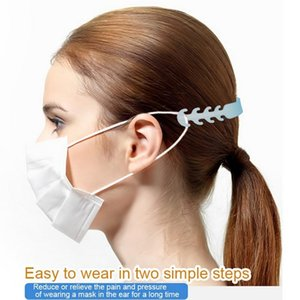 Ear Wholesale Adjustable Anti-Slip Mask Grips Face Mask Ear Hooks Comfortable Mask Hook Ear Strap Extension Free Shipping FY8023