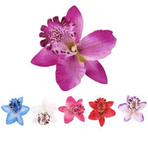 20 piezas de 8 cm Orquídea Cabeza Simulación Tailandia