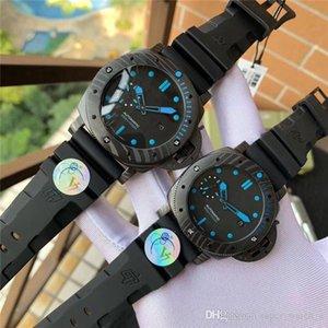 Super 121 v7 montre DE luxe male 47mm. Female 42mm 2555 mechanical movement watches carbon fiber watch case 50m