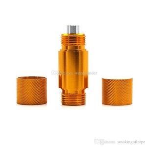 Small Aluminum Pollen Press Compressor Dry Herb Presser Tobacco Spice Presser Smoking Accessories for grinder free shipping