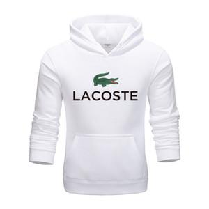 Lacoste 2020 Luxury Дизайнер Мужчины полосатой Повседневный вязаные свитера для мужчин Корейский Коллаж Осень Пуловер Tops Мужчина