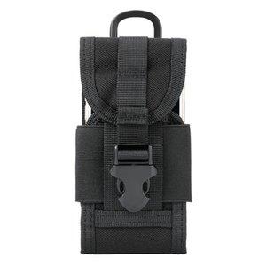 Sac bandoulière multifonctions tactique de taille 5 pouces sac de taille de sport en plein air cas de téléphone mobile accessoire de camouflage militaire