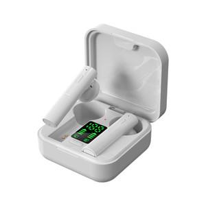 fones de ouvido sem fio recém-chegados carregador solar de air6 mais TWS Bluetooth Headphone in-ear fones de ouvido bluetooth sem fio com display LED