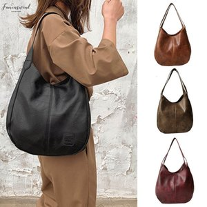 Zipper Fashion Womens Soft Leather Shoulder Bag Multi Function Large Hand Bag Sss