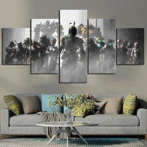 Home Decor Плакат HD Pictures Печать холст 5 шт Dead Space 2 3 Hot Видеоигры Гостиная Искусство Декоративные Обрамлено IXge #