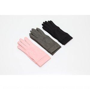 2020 new arthritis pressure and gray skin pink full finger gloves elastic gloves