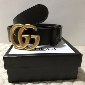 With box Classical Designer belt gûccì Luxury gg Brass buckle belt for men women strap gu̴cci L̴V Dress Jeans Waist belt gift