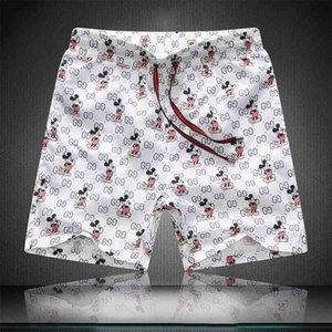 Pantalones Brand 2020 hombres calientes del Mens del diseñador corto ocasional del verano de la playa pantalones cortos para hombres Pantalones cortos para hombre Junta transpirable pantalones cortos de la medusa Piscina Corta Pan