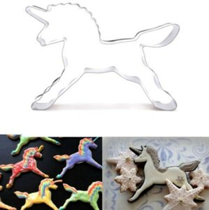 Unicorn Cookies Mold Cute Unicorns Horse Baking Mould Cake Biscuit Molds Cake Decorating Pastry Baking Biscuit Mould Bakeware YW2906