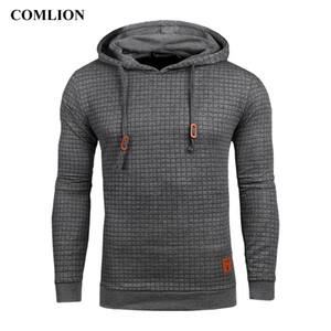 Homens Casual Mens hoodies camisolas manga comprida Outono Inverno Nova sólida Tamanho Plus Size cores moletom com capuz Masculino US C43 CX200722
