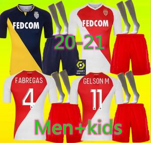 Les adultes et les enfants 2021 AS MONACO FOOTBALL MAILLOTS Keita Balde BEN YEDDER 2020 Gelson 2021 Accueil FABREAGS GOLOVIN MAILLOT DE FOOT