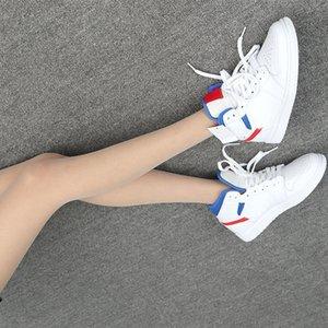 1 Mid Bianco Rosso Reale (W) 164 BQ6472 BIANCO ROSSO GIOCO REALE High Top Sneakers donna Sneakers Uomo scarpe da ginnastica comode shoes trasporto libero