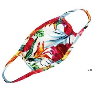 Dener Fa Maske Fasion Cotton Droll Fa Maske Flag-Digital-Sport Alloween Cosplay Fa Masken Staub Warm Windsicher # 639730 Maske