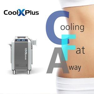 وافق CE / ROHS cryolipolisis أحدث العلاج بالتبريد بارد التكنولوجيا الدهون تجميد جهاز آلة شفط الدهون مع 4 مقابض