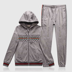 selling Italian Tracksuit For Men 2 Pieces Set New Fashion Jacket Sportswear Men Tracksuit Hoodie Spring Autumn Clothes Hoodies+Pants