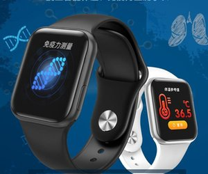 New W58PRO body temperature smart bracelet heart rate blood pressure sleep step detection smart watch