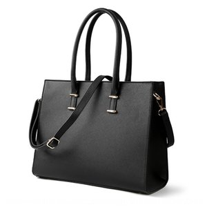 2019 New Women's computer bag women's portable big bag cross-line shoulder twill fashion Computer Briefcase