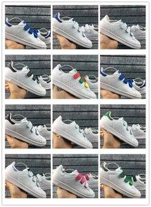 Adidas Shoes  degli amanti dei pattini Stan Smith Uomini Donne Scarpe classiche di alta qualità gancio traffico LOOP Buckle Scarpe luce rosa di pelle casual Sport Sneakers