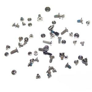 10Set lot For iPhone 5 5C Original Full Set Screws with 2 Bottom Charging Dock 5-Star Screw Repair Bolt Replacement Parts