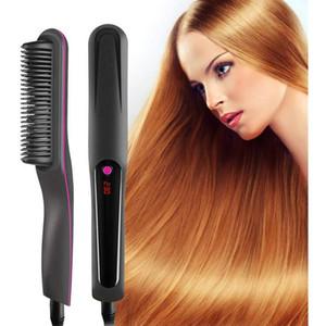 DHL جديد التوالي تمشيط الشعر سلبية ايون مشط متعددة الوظائف التلقائية التصميم مشط مستقيم مكافحة السمط الشباك الكهربائي عصا الولايات المتحدة GB