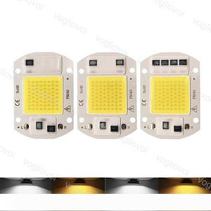 Light Beads 110V 220V 20W 30W 50W Chip With IC 110V 220V Warm White For Outdoor Projectors DIY Floodlight Highbay Spotlight EUB